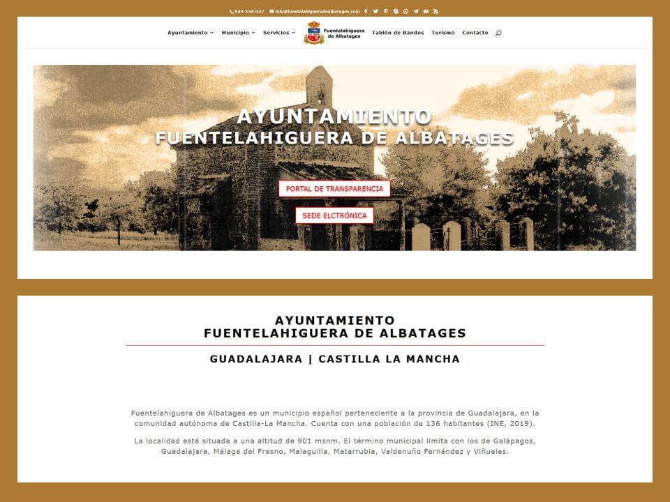 Ayuntamiento Fuentelahiguera de Albatages
